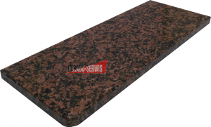 Parapet granitowy eagle red